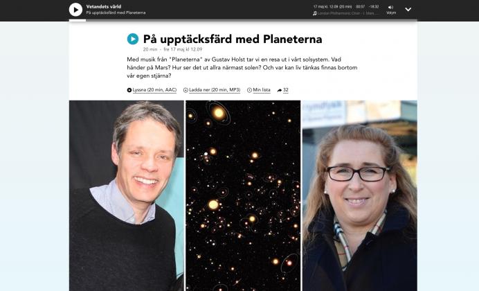 Ella Carlsson Sjöberg i Sveriges Radio från Berwaldhallen