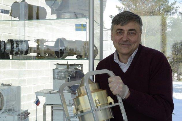 Rymdforskningsmedalj till professor Stas Barabash