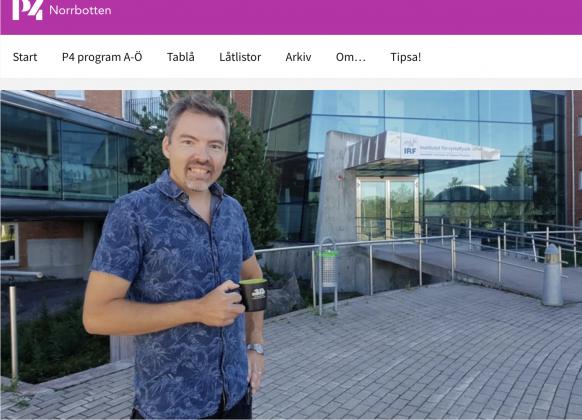 IRF-forskaren Johan Kero om Perseiderna i P4 Norrbotten