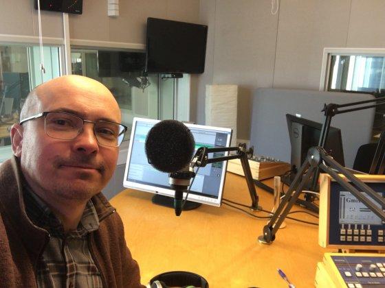 IRF-forskaren Yuri Khotyaintsev om Solar Orbiter i radio och podcast