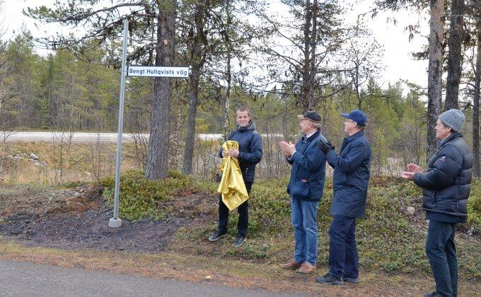 """Bengt Hultqvist banade """"väg"""" för rymdverksamheten i Kiruna"""