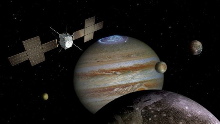 Pressat rymduppdrag med sikte på Jupiter