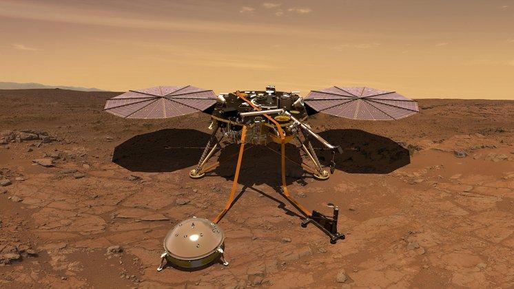 Forskare från IRF intervjuades när rymdsonden Insight landade på Mars