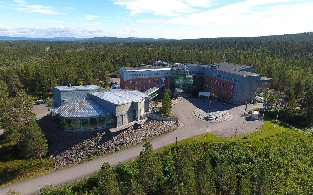 Rymdcampus augusti 2020. Foto: Johan Svensson