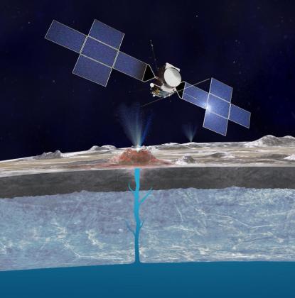 Water plumes on Europa: tasting an extraterrestrial ocean