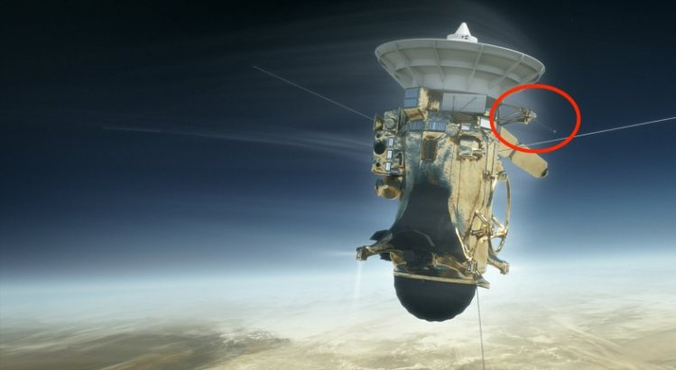 IRF-instrument på Cassini