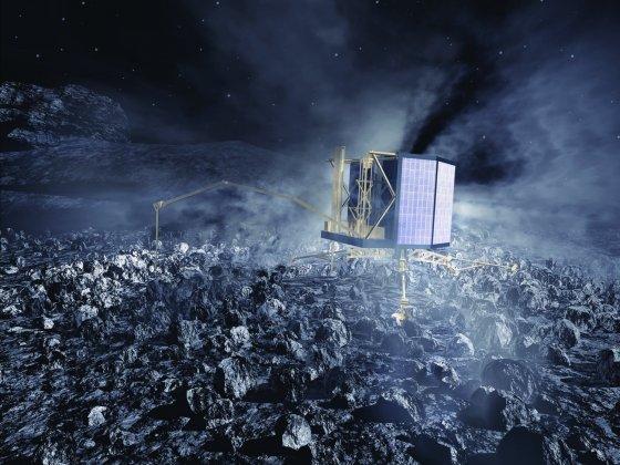 Att angöra en komet – Rosetta sätter ned landare på kometkärna