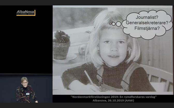"""IRF-forskaren Gabriella Stenberg Wieser om """"En rymdforskares vardag"""""""