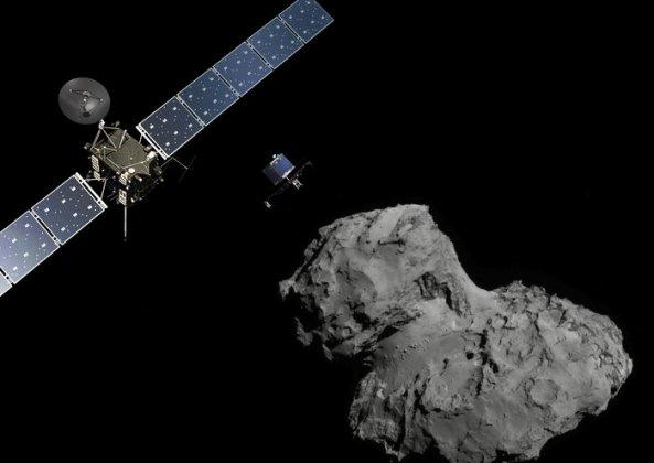 Närkontakt med en komet den 30 september – rymdsonden Rosetta avslutar sin mission