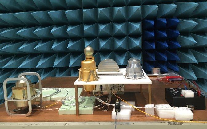 Elektromagnetiska tester av instrumentpaket inför Jupiter-mission 2022