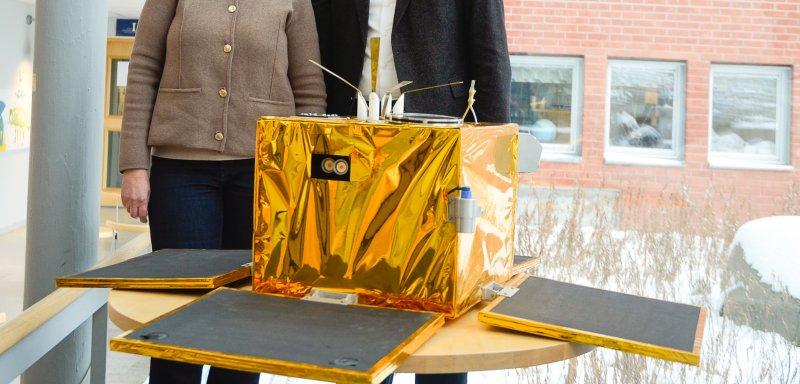 Installation av mikrosatelliten Astrid-1 invigd