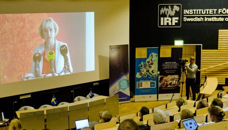 Ny nationell rymdstrategi lanserad