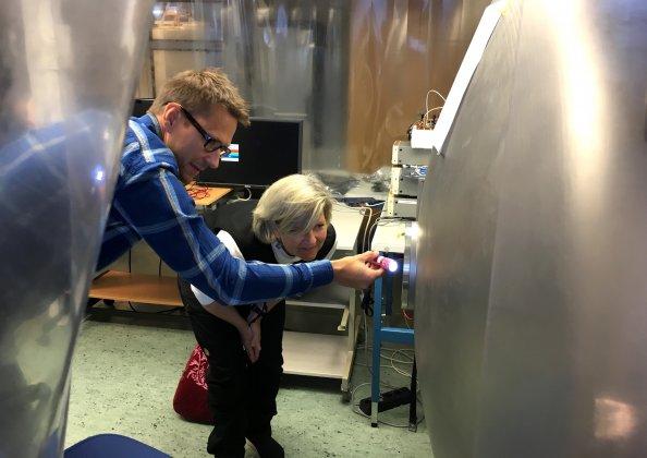 Kanadensisk ambassadör tog del av rymdverksamhet