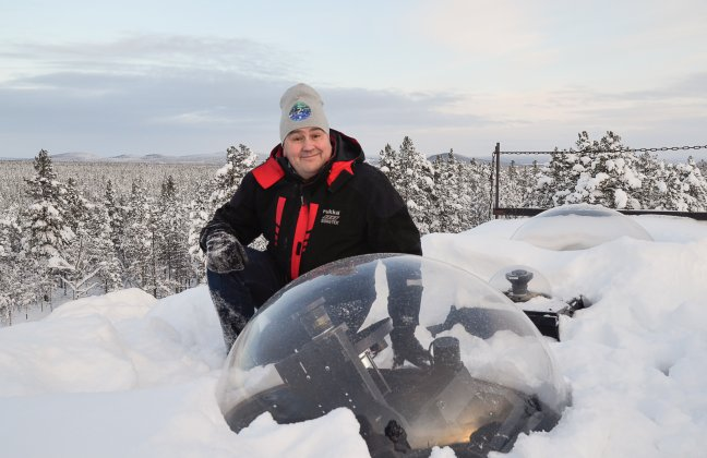 Vad är en observatoriverksamhet och vad gör en optisk norrskensforskare?