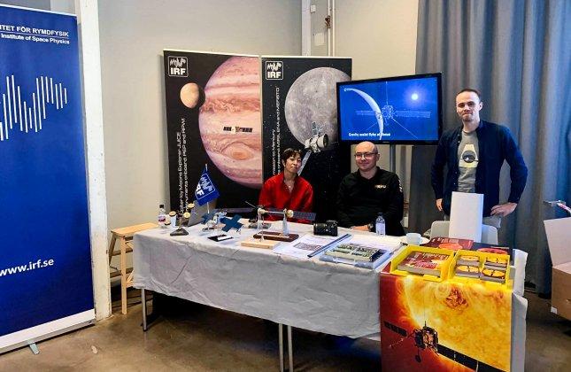"""IRF tog """"Steget ut i rymden"""" under årets Astronomins dag"""