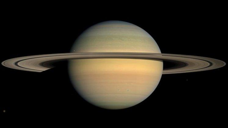 Resans slut för rymdsond vid Saturnus
