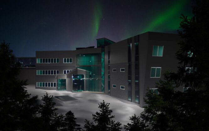Från planeter och norrsken till innovation och tillväxt i övre Norrland