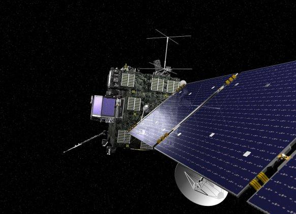Kometjägare passerar jorden – ombord finns svensk utrustning från IRF