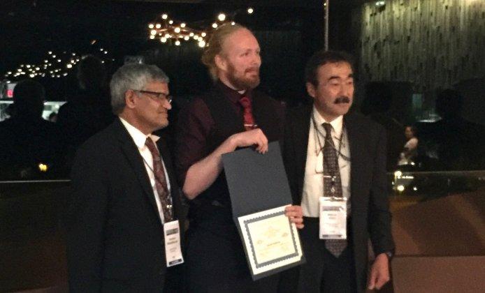 Doktoranden Daniel Kastinen prisas för vetenskapligt manuskript