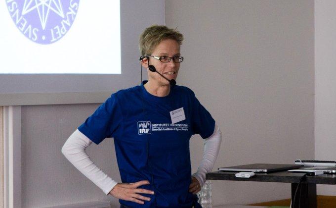 IRF:s Gabriella Stenberg Wieser intervjuades om konsten att förklara så att fler förstår