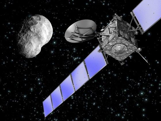 Asteroid undersöks på plats av svenska instrument