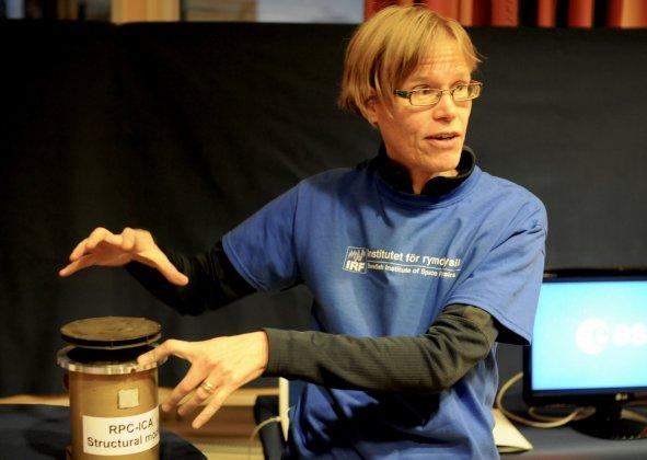 Gabriella Stenberg Wieser medverkar i SVT:s Fråga Lund