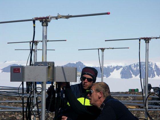 Radarparet som utforskar den polara atmosfären fyller jämt – ESRAD och MARA