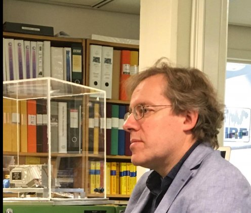 Martin Wieser i The Guardians podcast om månen