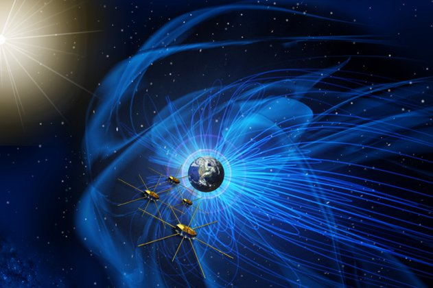 Multi-satellite space mission encounters magnetic reconnection in the Earth's magnetotail