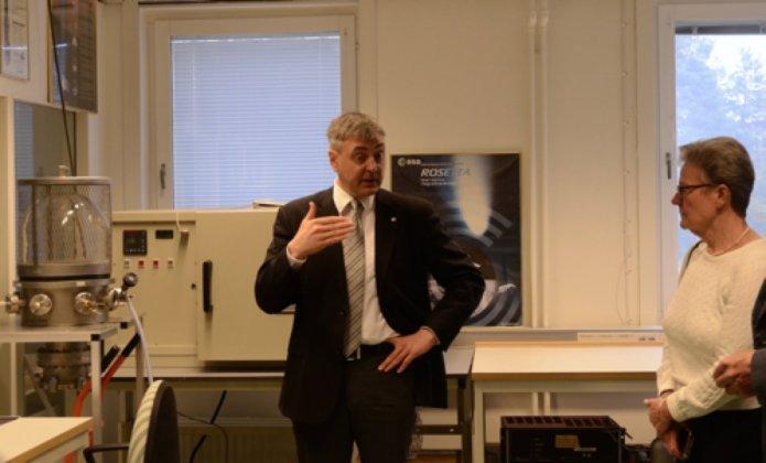 Forskningsinfrastruktur på Rymdcampus ett viktigt komplement till satellitsatsning på Esrange