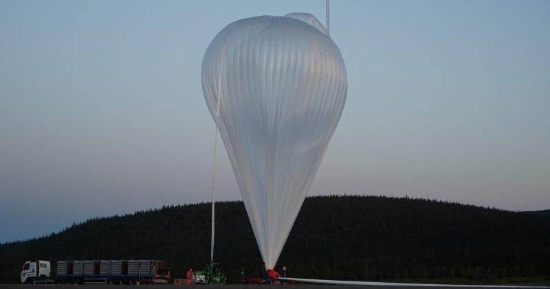 Lyckade observationer av nattlysande moln för atmosfärforskare i Kiruna