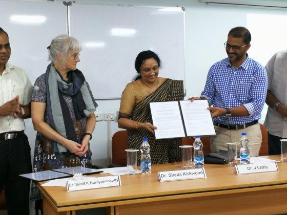 Atmosfärsradarn MARA överlämnad till Indien