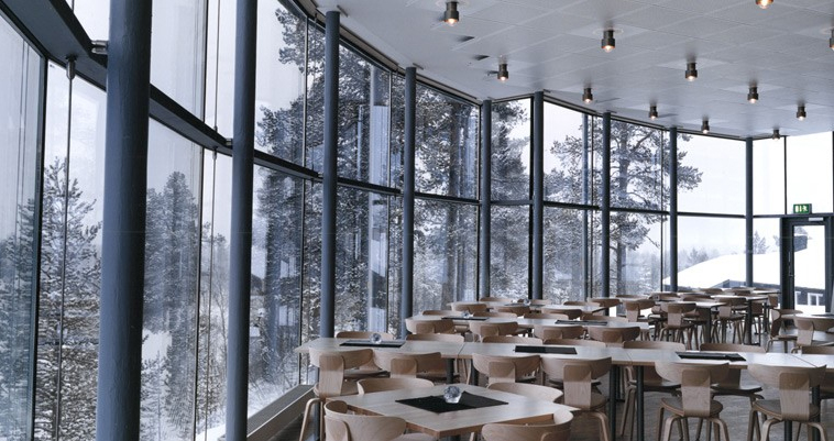 Restaurang Atmosfären.MAF Arkitektbyrå.